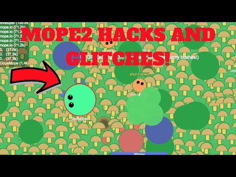 Mope2.io - EPIC HACKS AND GLITCHES! + Funny Tailbite Trolling!! (Mope2 Gameplay)