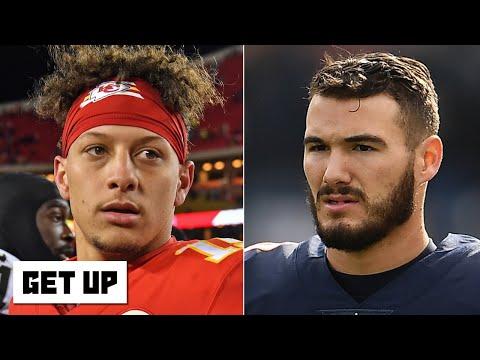 Revisiting The 2017 NFL Draft: Mitchell Trubisky, Patrick Mahomes & Deshaun Watson | Get Up