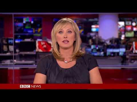 Martine Croxall BBC News at Ten September 24th 2017
