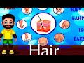 KIDS LEARNING GAMES (10) HAIR