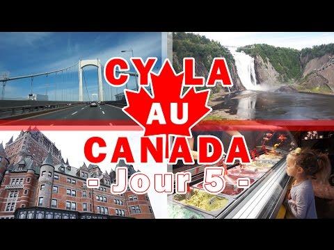 [Daily Vlogs CyLa au Canada] Jour 5 - La magnifique ville de Québec !