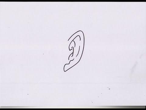 HOW TO DRAW DBZ EAR #1 ドラゴンボールZ の 耳 - YouTube