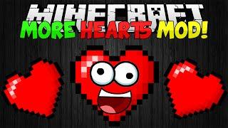 Minecraft Mods || MORE HEARTS!!! || Infinite Health!!! || Mod Showcase [1.7.10]