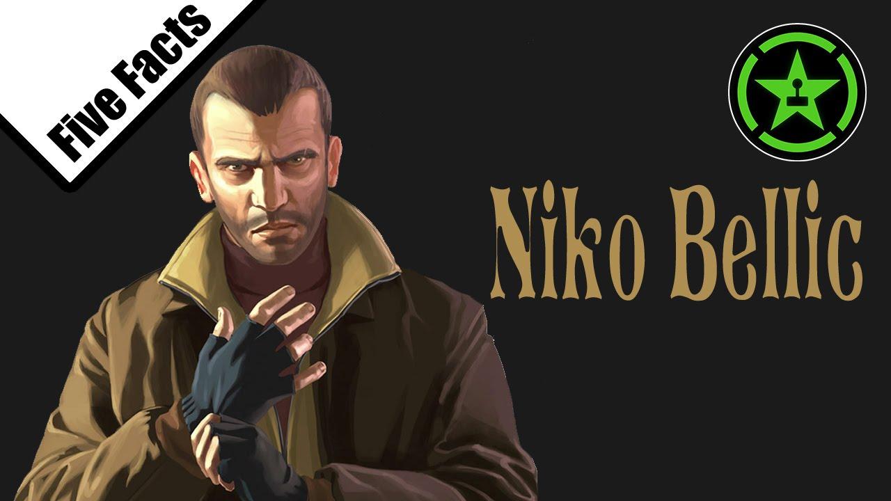 Notable Remontarse Corteza  Five Facts - Niko Bellic (GTA IV) - YouTube