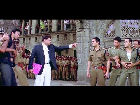 Garv Movie - Best Salman Khan Scene | Salman Beats Hakeem Lukka