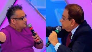 José Messias E Regis Tadeu Discutem Ao Vivo - Programa Raul Gil - Barraco Ao Vivo