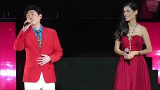 Johnson Lee 李思捷 与长时间八卦马来西亚超级模特女友 Amber Chia共同演唱二重奏