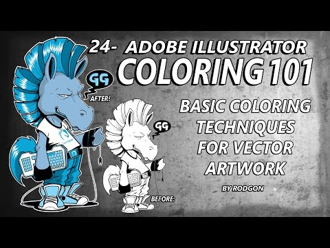 24- Adobe Illustrator Coloring 101