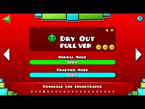 Geometry Dash : Dry Out (FULL VER) All Coin / ♬ Partition