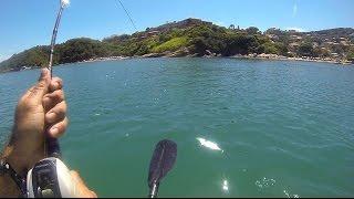 Video Peixe Bonito em um Bonito Lugar - Pesca com Caiaque - Kayak Fishing - Leogafanha download MP3, 3GP, MP4, WEBM, AVI, FLV Desember 2017