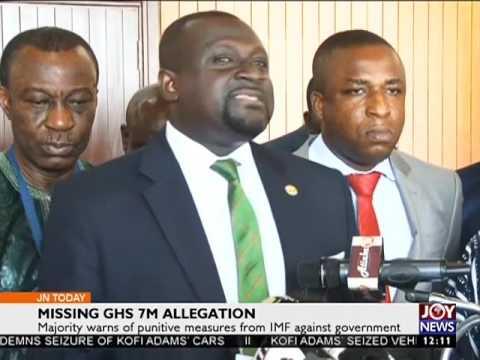 Missing GHS 7M Allegation - Joy News Today on Joy News (2-2-17)