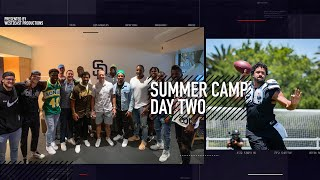 Coming For You Patrick Mahomes!! | Russell Wilson Seahawks Summer Camp Day Two