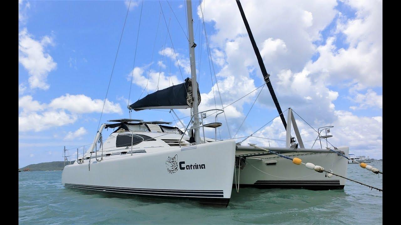 2003 Admiral 38 Executive Sailing Catamaran For Sale -