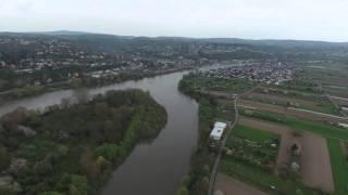 Koblenz 2016 von oben