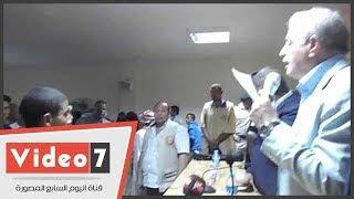 محافظ جنوب سيناء: توزيع 500 كرتونة مواد غذائية على أهالى سانت كاترين