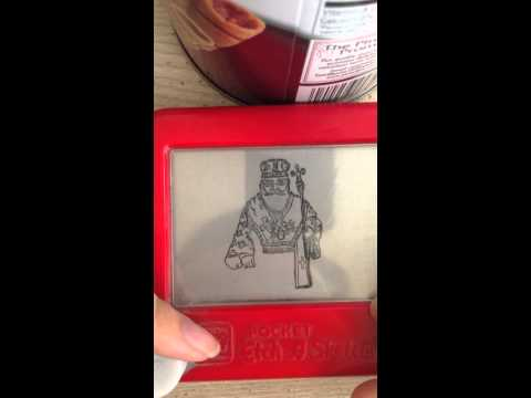 Greek Etch A Sketch