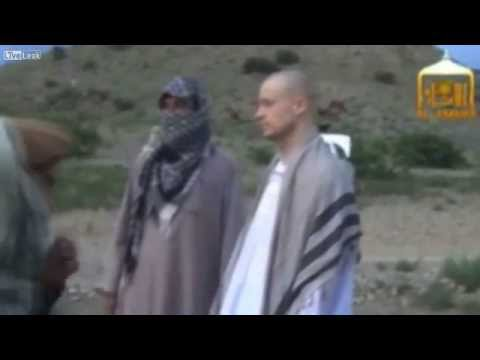 Handover of US soldier Bowe Bergdahl Released By The Taliban
