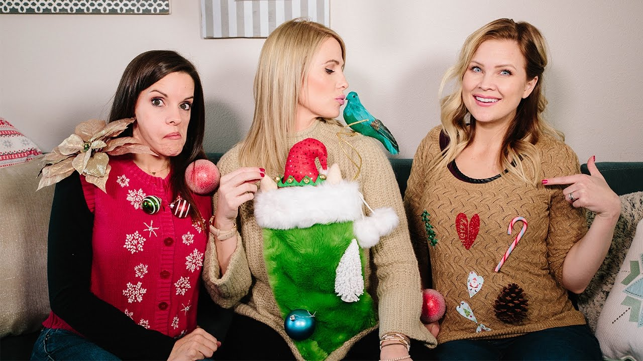 Ugly Sweater Challenge The Moms View Youtube
