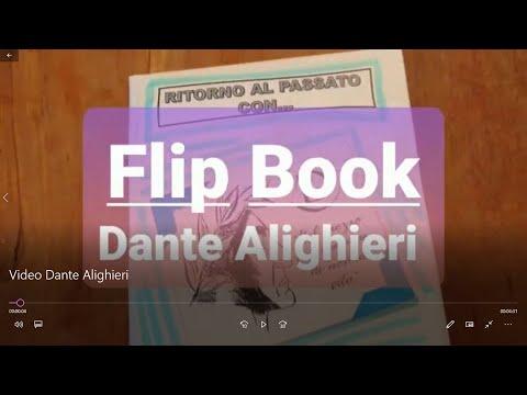 Dante Alighieri e la Divina Commedia -  Flip Book