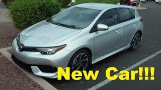 My New Car: 2016 Scion im