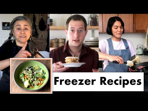Pro Chefs Make 8 Different Freezer Meals | Test Kitchen Talks @ Home | Bon Appétit