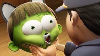 Spookiz | Cute Zombie Transforms | 스푸키즈 | Funny Cartoon | Kids Cartoons | Videos for Kids