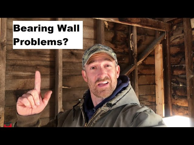 Historic Guest Barn Renovation - Episode 7, Bearing Wall Problems