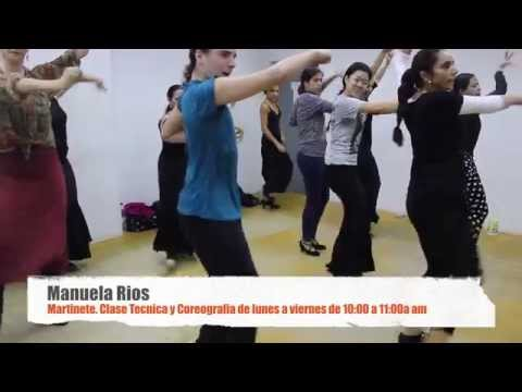 Clases de Flamenco en Sevilla con Manuela Ríos