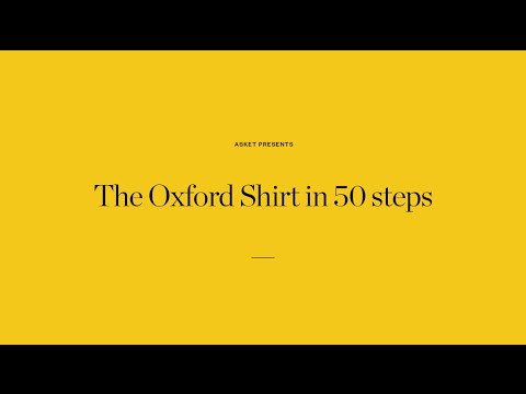 The Oxford Shirt in 50 Steps