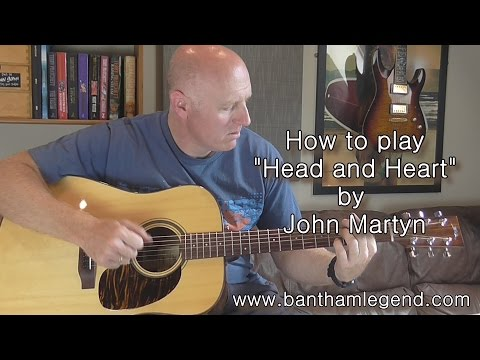 How to play Head and Heart by John Martyn - TAB guitar tutorial