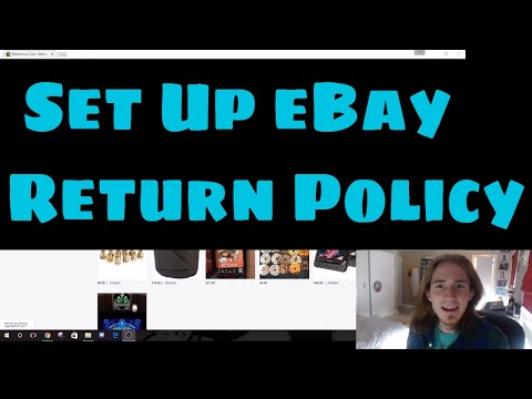 Drop Shipping eBay - How to Set Up A Return Policy and Handle Returns