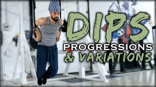 Dips: Progressions & Variations | Movement Skill