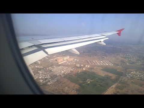 AIR ASIA AIRBUS A320 LANDING ON JAIPUR AIRPORTWP 20180305 08 40 43 Pro