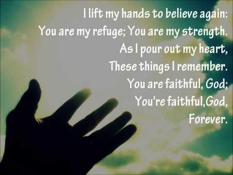 I Lift My Hands {with lyrics} - //Chris Tomlin, Matt Maher, Louis Giglio\\