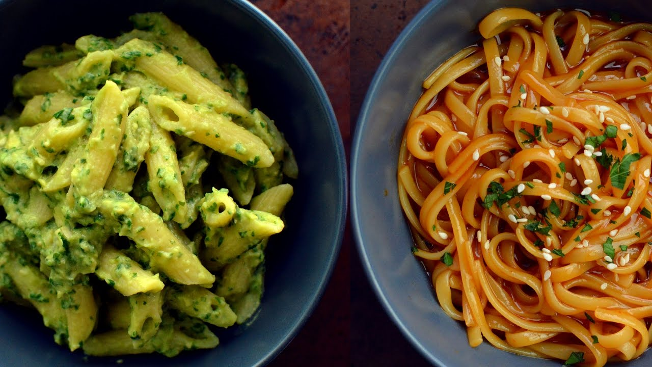9 Vegan Pasta Recipes College Students