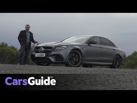 Mercedes-AMG E63 S 2017 review: road test video