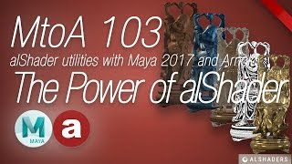 MtoA 103 | The Power of Utility nodes | using Arnold with Maya 2017