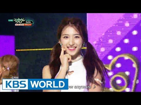 우주소녀 (WJSN) - BEBE / 비밀이야 (Secret) [Music Bank COMEBACK / 2016.08.19]