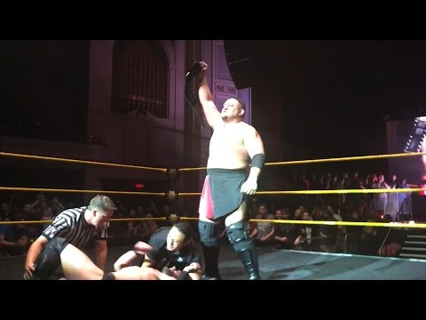 Samoa Joe overcomes Finn Bálor to capture the NXT Championship
