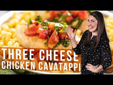 How To Make 3 Cheese Chicken Cavatappi