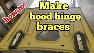 How to make h๐od hinge braces