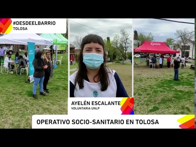 UNIVERSIDAD- DESDE EL BARRIO-  OPERATIVO SOCIO SANITARIO EN TOLOSA