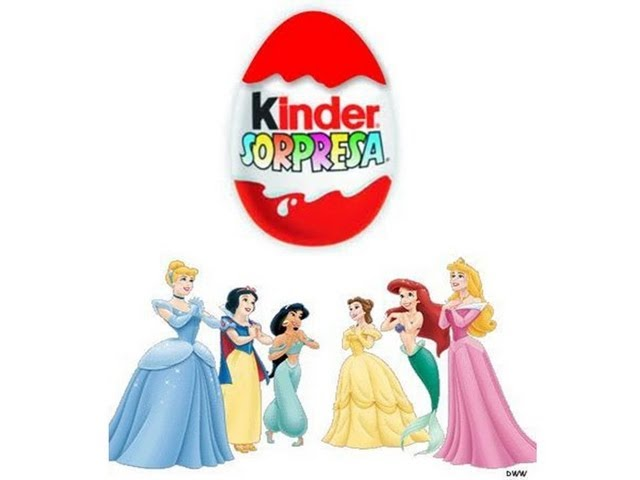 Unboxing Disney Princess Kinder Surprise Chocolate.Abriendo Huevo Kinder Sorpresa Princesas Disney Videos De Viajes
