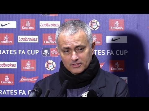Blackburn 1-2 Manchester United - Jose Mourinho Full Post Match Press Conference - FA Cup