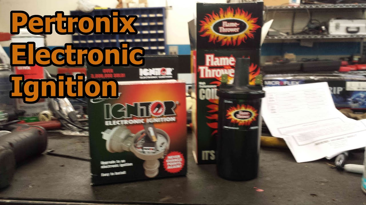 240z Pertronix Electronic Ignition Install Youtube Wiring Diagram