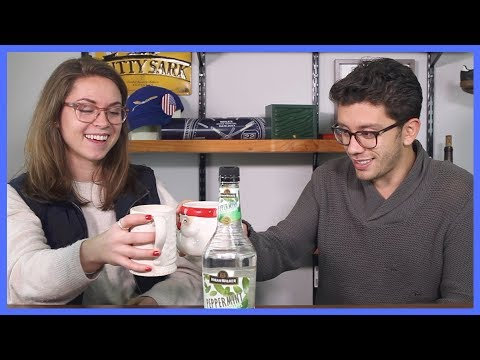 Hot Chocolate, Peppermint Schnapps, and the Real Story of Theo&Harris | LIQUOR RUN