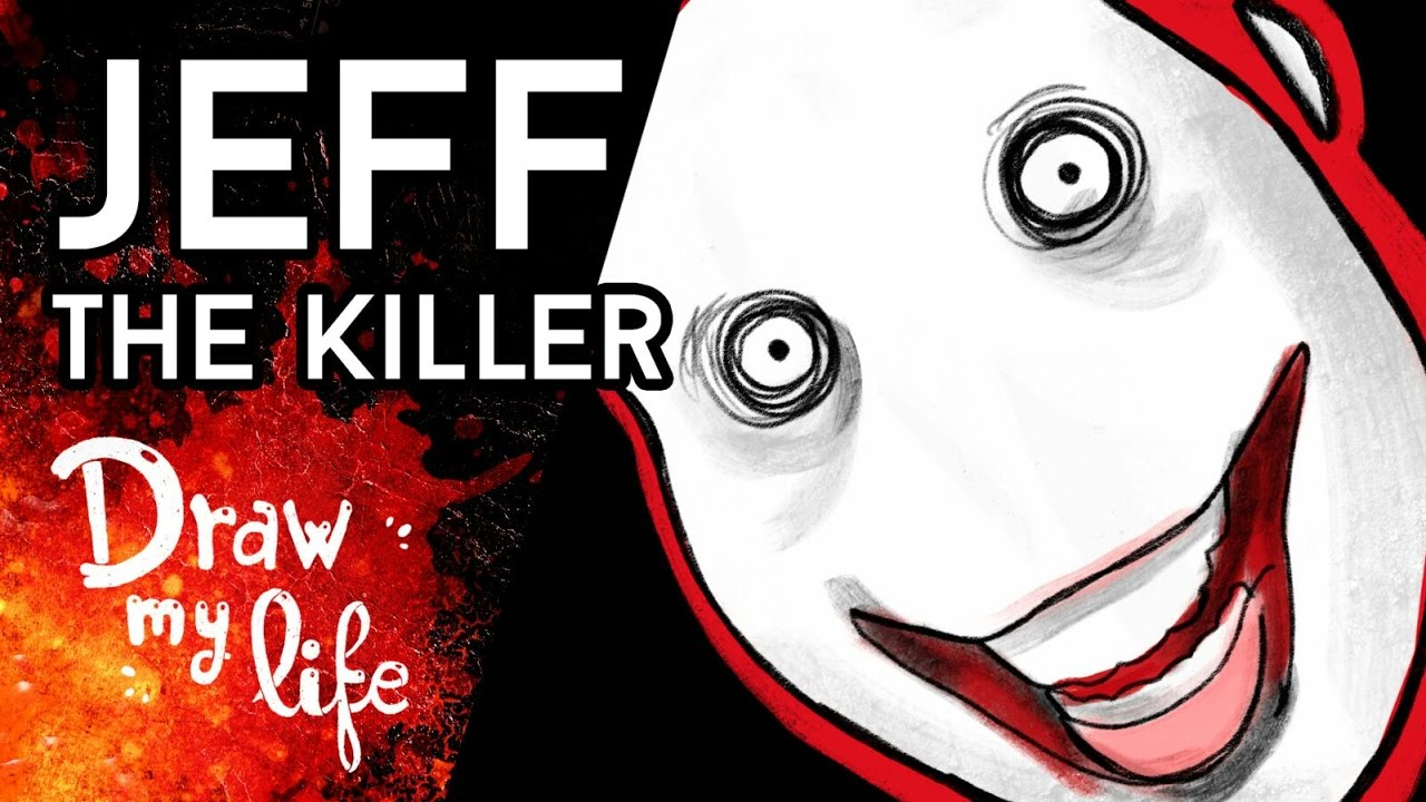 La HISTORIA de JEFF THE KILLER | Personaje CREEPYPASTA | Draw My Life