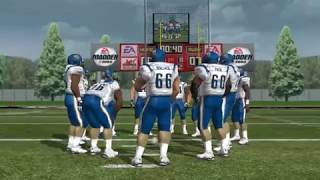 Ridge View Blazers vs Blytewood Bengals Madden 08  South Carolina High School Football Mod