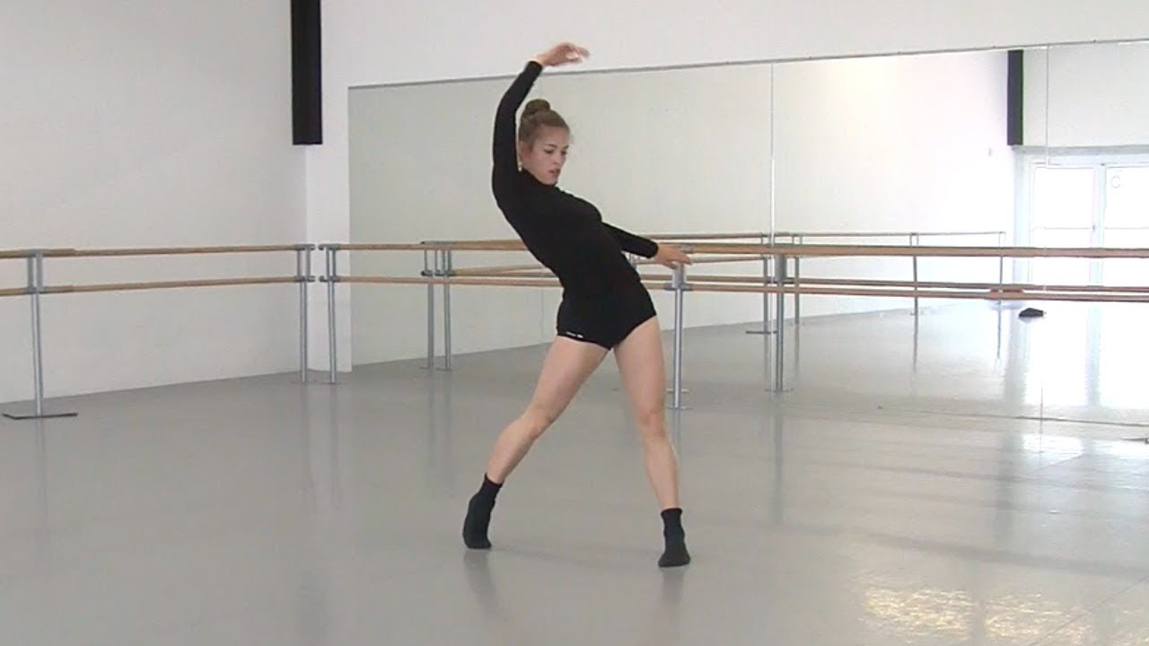 Tatiana Dancing in a Studio