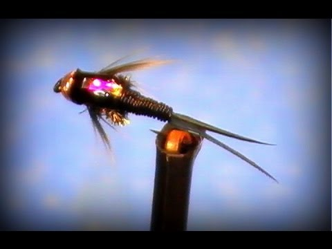 Fly Tying Copper John Bead Head Nymph Youtube